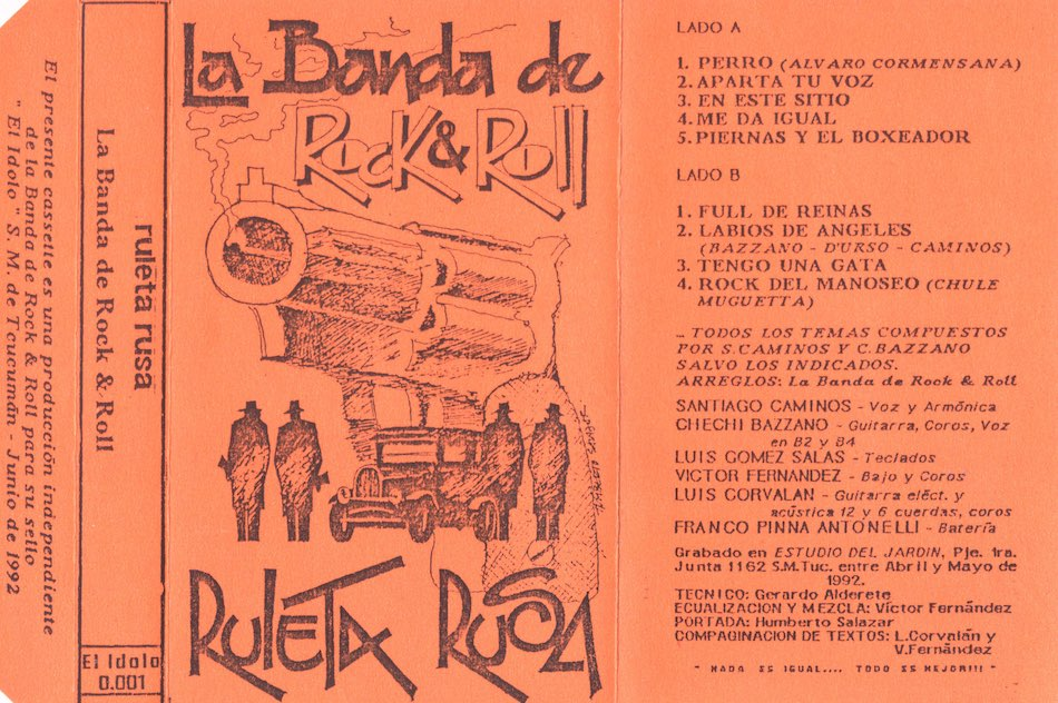 La Banda de Rock And Roll - Ruleta Rusa - 1992 - TucumanRock