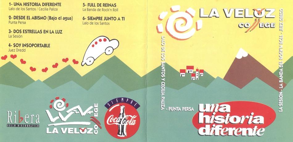 Una Historia Diferente - Tucuman Rock - La Sesion - La Banda de Rock N Roll - Juez Dredd - 1994 - TucumanRock