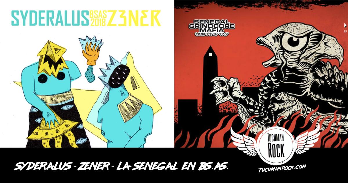 Syderalus - Zener - Senegal Grindcore Mafia En Buenos Aires - TucumanRock