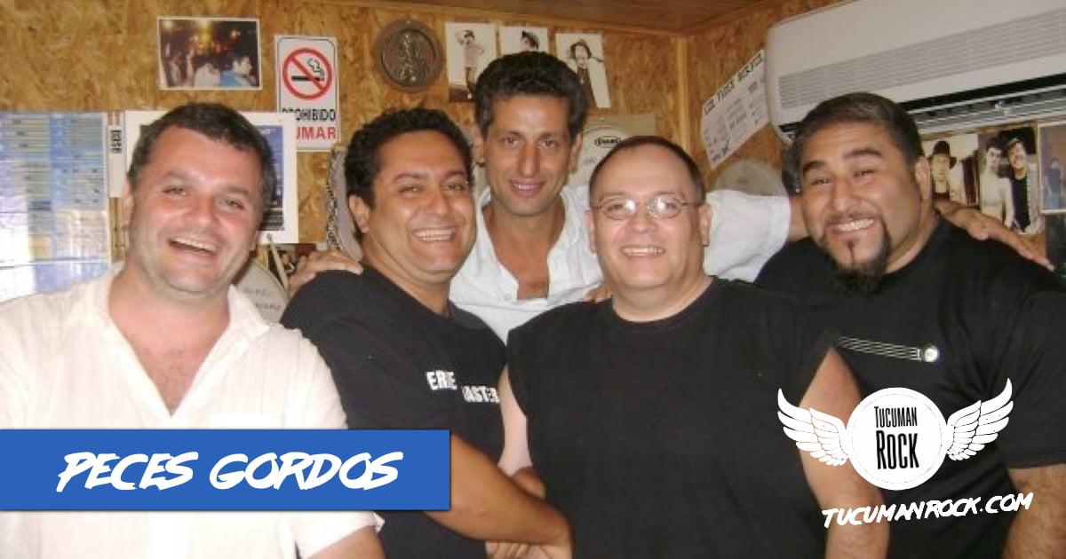 TucumanRock - PECES GORDOS - Backstage de la Grabación de Corazón de Blues - Video Inédito